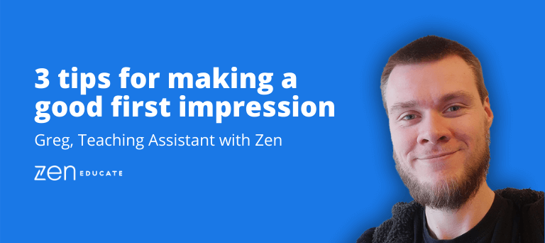 Tips for Teaching Assistants: Making a positive first impression