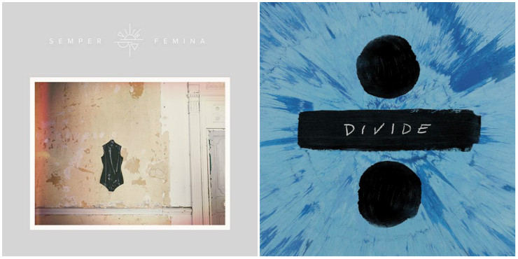 Laura Marling and Ed Sheeran's new album covers