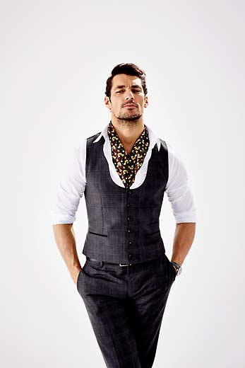 Elisabetta Cavatorta Stylist - David Gandy - Esther Haase - Grazia