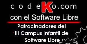 Codeko patrocina el III Campus Infantil de Software Libre