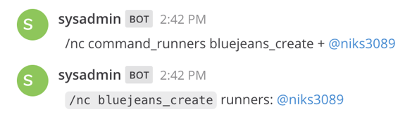 Add runners