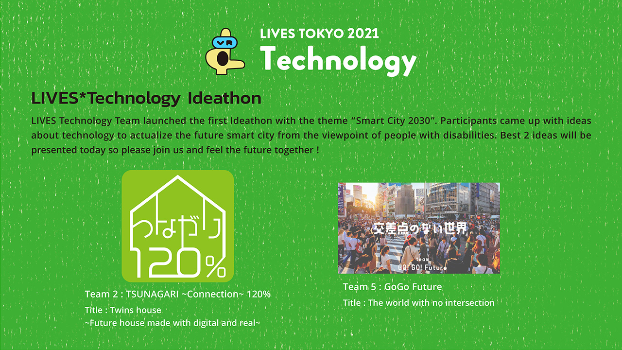 LIVES x Technology