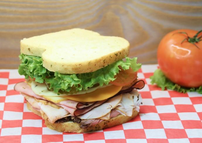 Heritage Ham sandwich