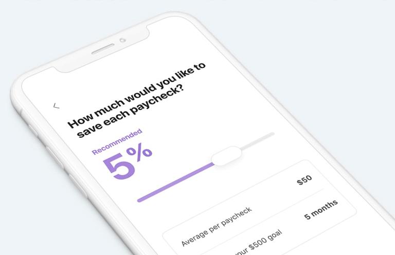 savings in app