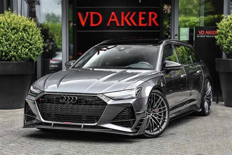 Audi RS6 RS6R ABT LIMITED 1/125 (740 PK / 920 NM) NP.305K afbeelding 1