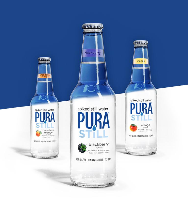 Pura Still Flavor Lineup
