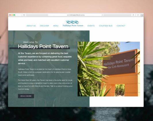 Hallidays Website