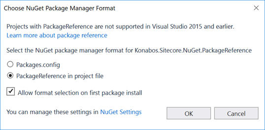 Blog - NuGet: To Reference, or to NoReference? That is the question