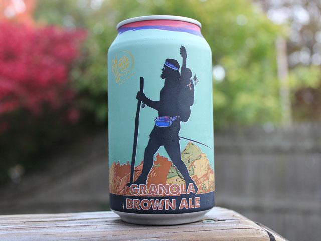 A Granola Brown Ale brewed by Black Hog Brewing Company