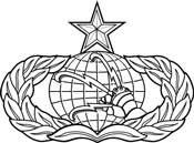 Communications and Information Badge 3C271