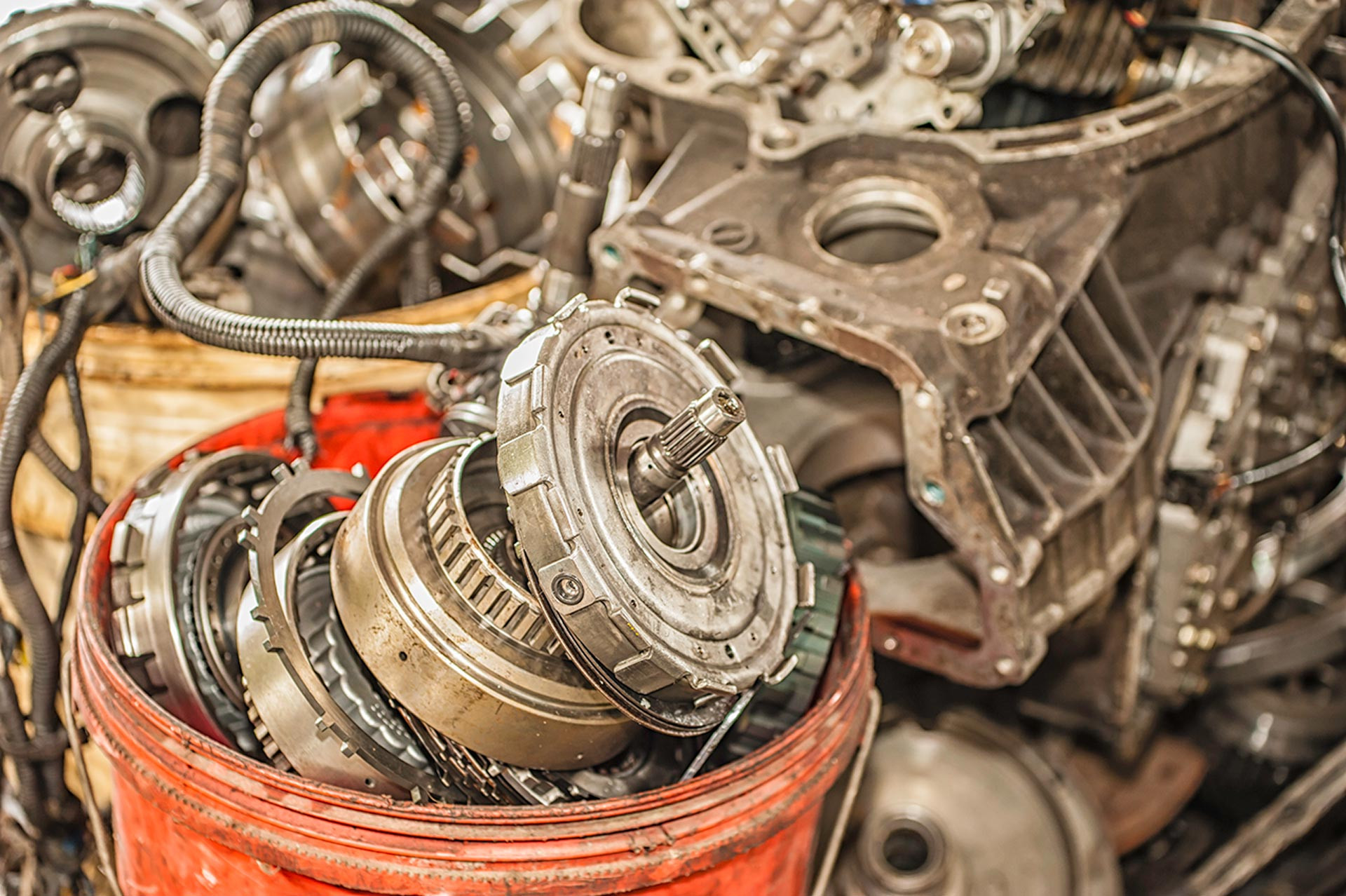 Used truck parts available to purchase from our salvage yard