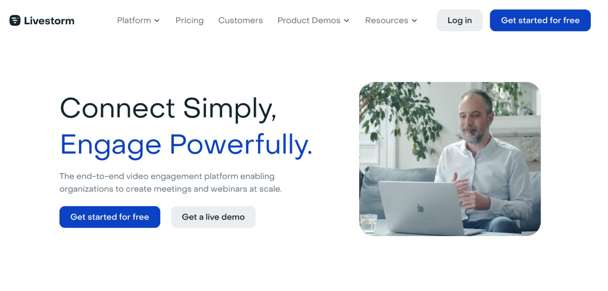 SaaS Marketing Automation Tools: Livestorm Screenshot