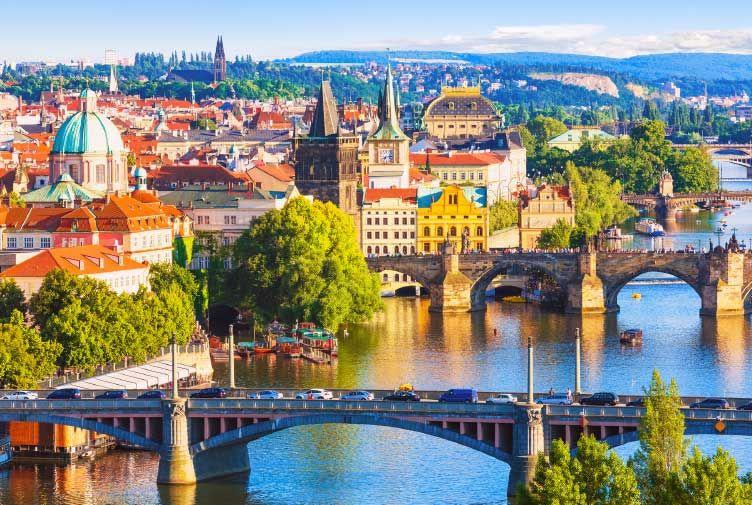 Bratislava to Prague