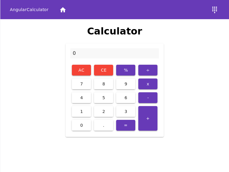 Calculator screenshot