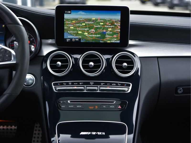Mercedes-Benz C-Klasse C63 T AMG Perf-Uitlaat Pano Burmester Comfort-Memo HUD Rij-Ast TopView Keyless afbeelding 14