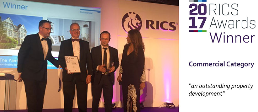 The Yarrow Hotel Wins RICS Award 2017