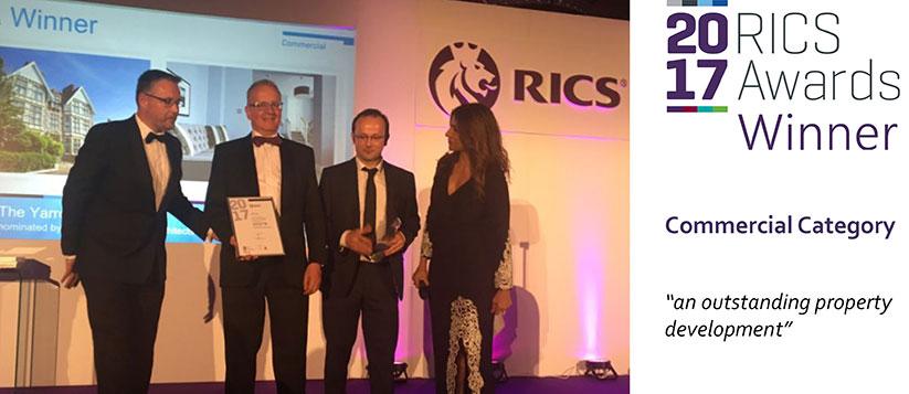 The Yarrow Hotel Wins RICS Award 2017