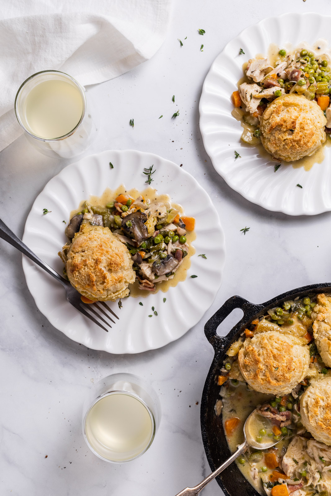 Drop Biscuit Chicken Pot Pie