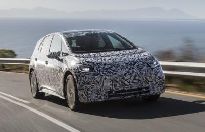 VW ID car being road tested in South Africa