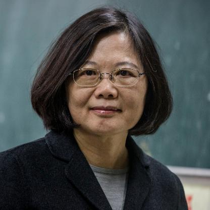 Tsai Ing-wen, President of Taiwan
