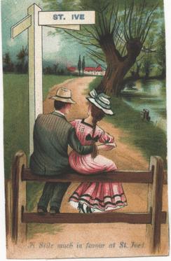 Old St Ive Postcard