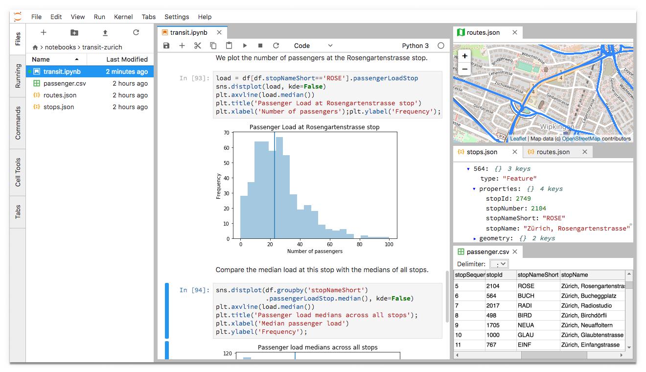 jupyterlab screenshot
