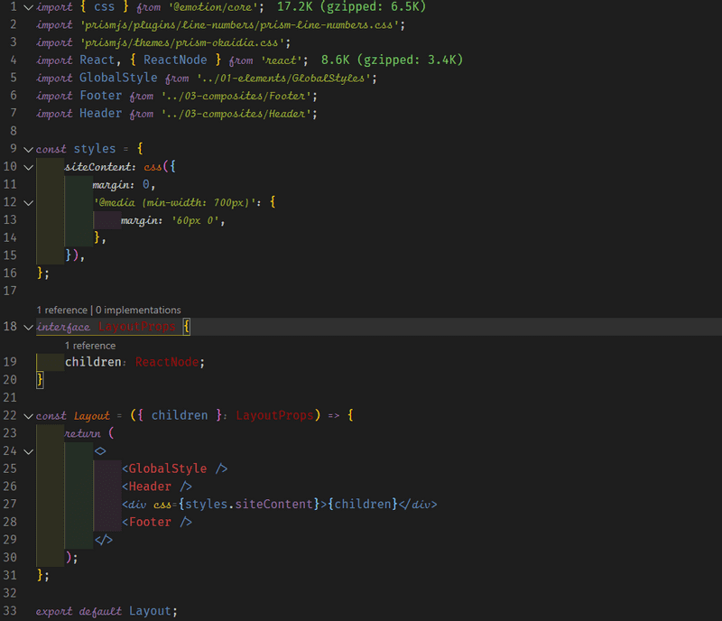 Final Output Code Snippet