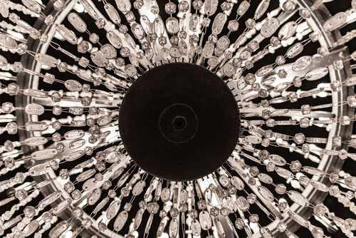 Salt-Crystal Chandalier