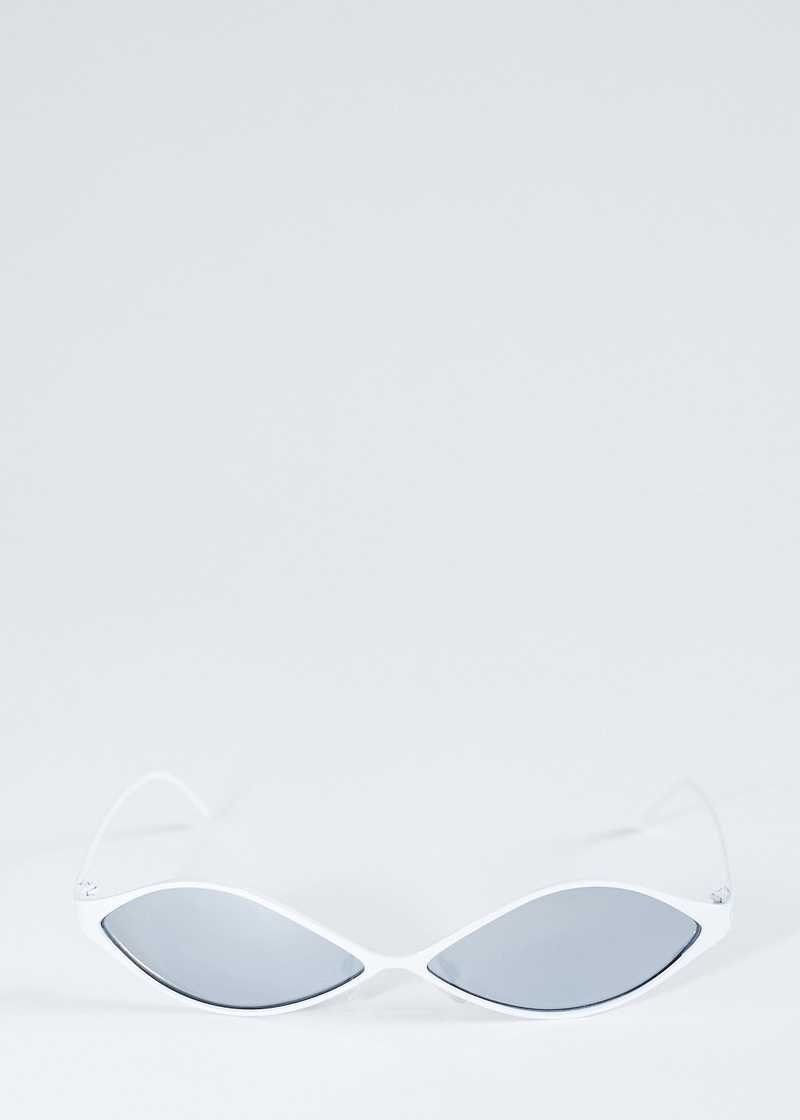 Ayni sunglasses metal white. GmbH SS20 collection.