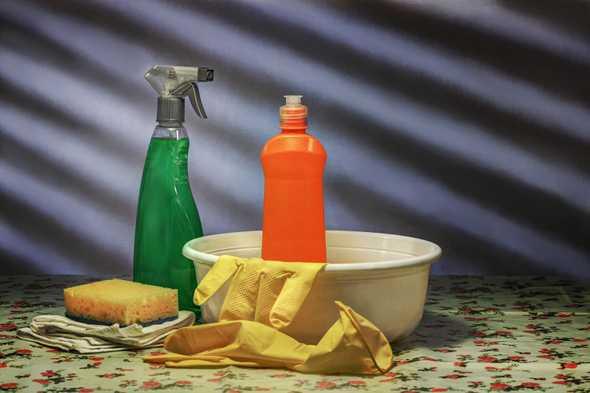 schoonmaakspullen