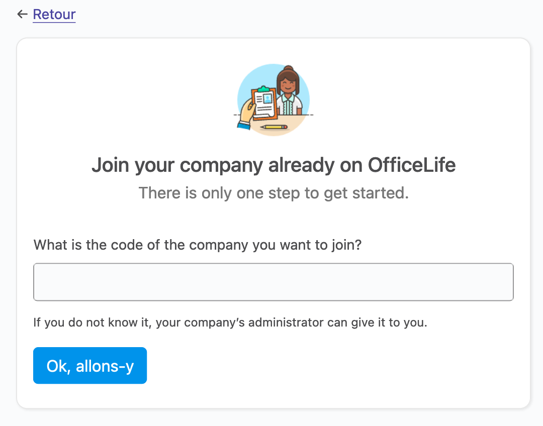 join a company