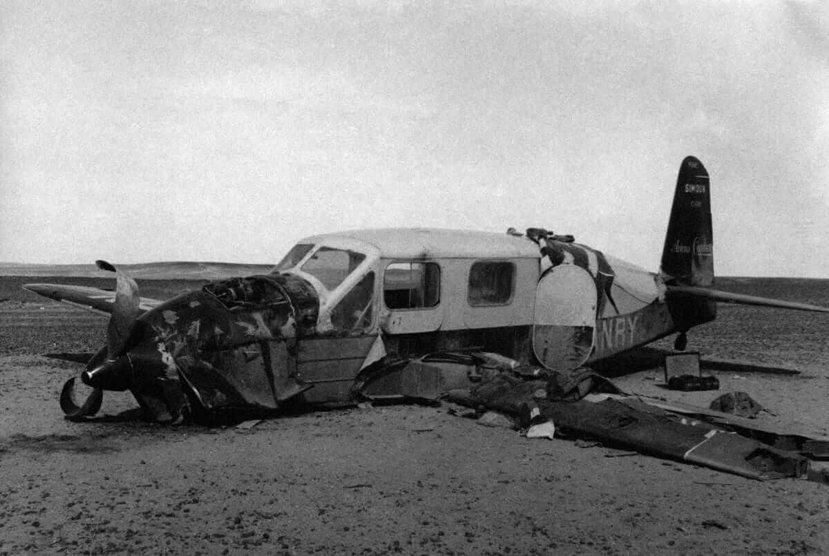 Обломки самолета, накотором разбился Антуан деСент-Экзюпери / revistatrestiempos.com
