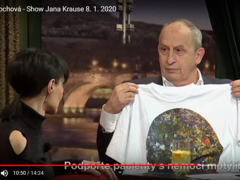 Liběna Rochová o nemoci motýlích křídel - Show Jana Krause 8. 1. 2020