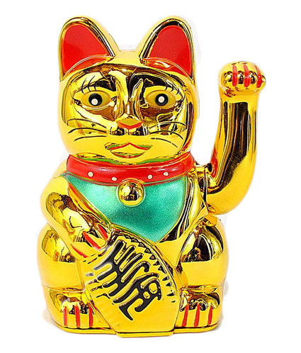 The lucky cat model I bought.
