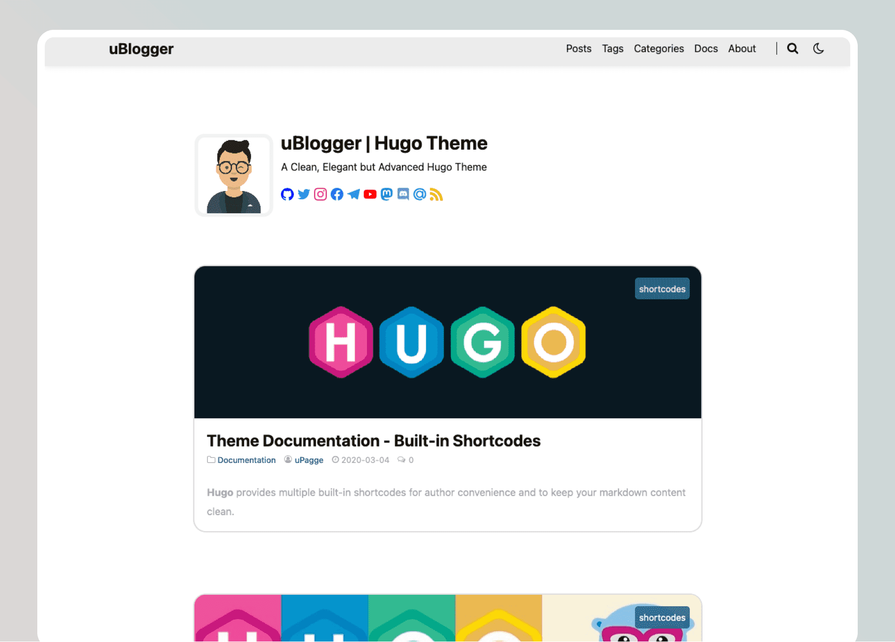 ublogger- cover