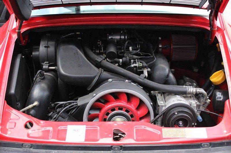 Porsche 911 964 Carrera 2 Historie bekend, Airco, Schuifdak, Leder interieur, Achterruitenwisser afbeelding 11