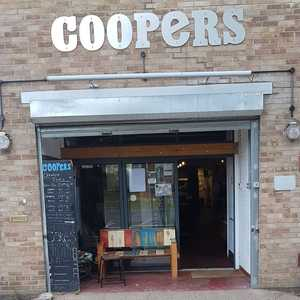 All ready for tonight at Coopers in Marlow where we will be serving craft beer, gin, cider and wine. Come down for a night of drink, food and a live DJ!