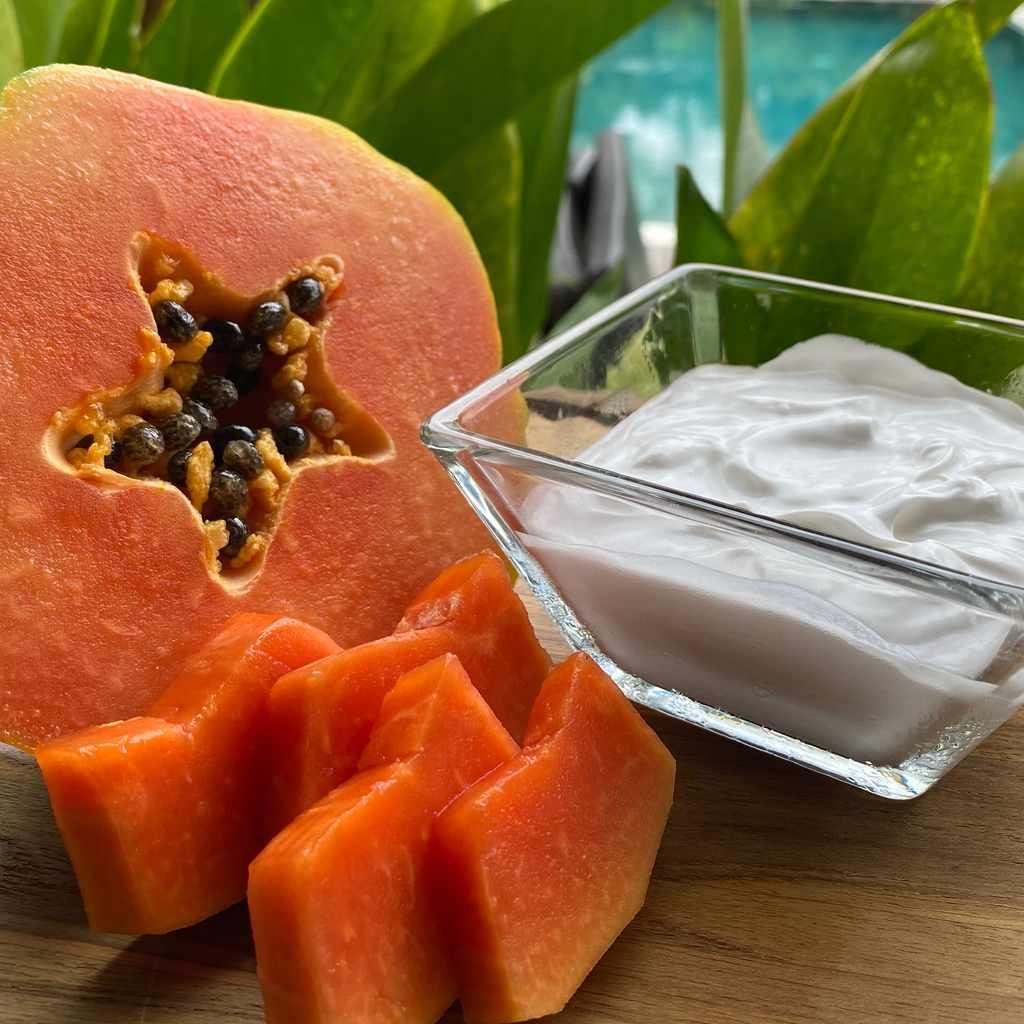 smoothies: papaya smoothie