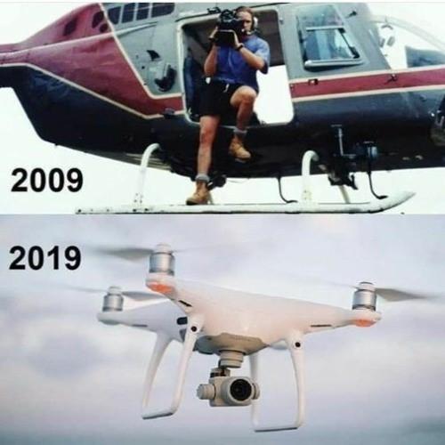 Helicopter Camera man Meme