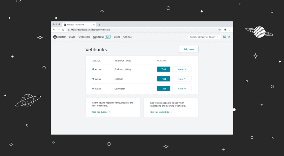 Introducing Smartcar webhooks (private beta)