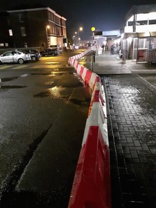 EVO 55 Water Filled Barriers round bend