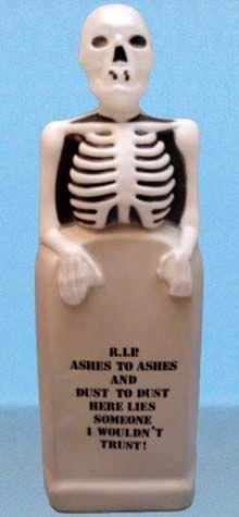 Skeleton & Tombstone photo