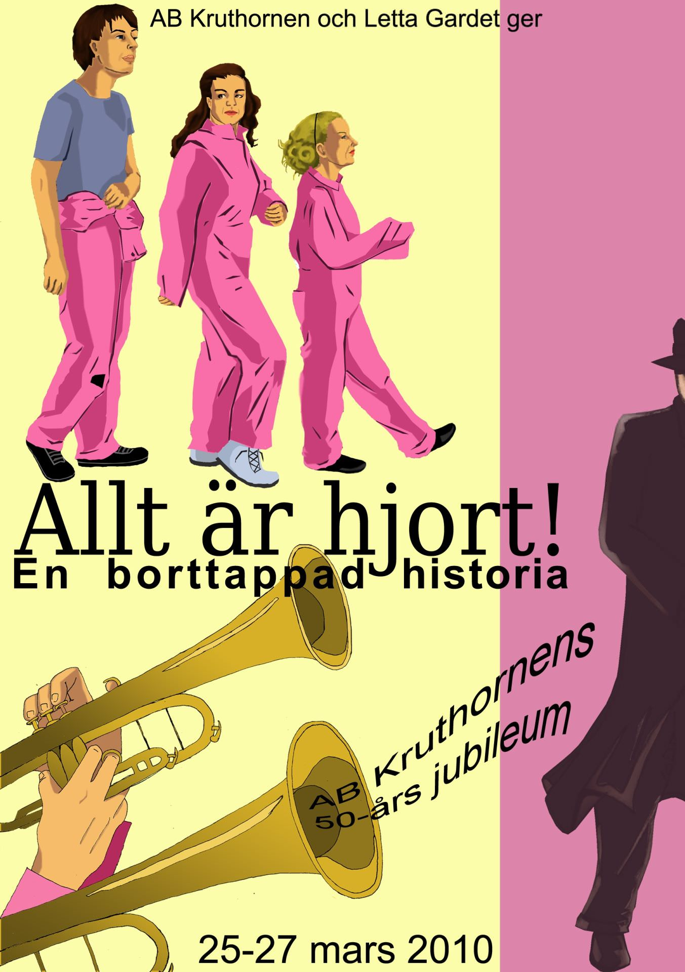 Affisch Kruthornen 50 år