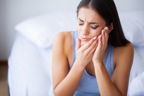 Dental Patient in pain