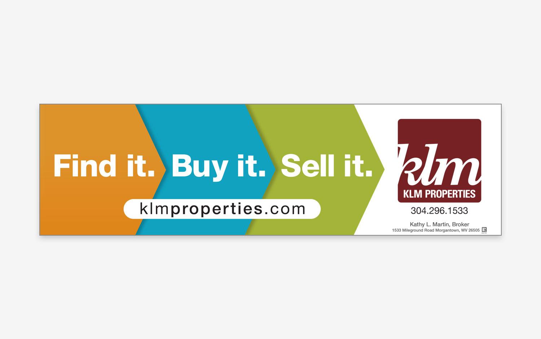 KLM Properties - Find it. Buy it. Sell it. Billboard