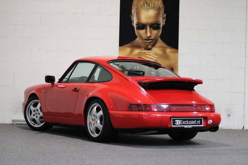 Porsche 911 964 Carrera 2 Historie bekend, Airco, Schuifdak, Leder interieur, Achterruitenwisser afbeelding 2