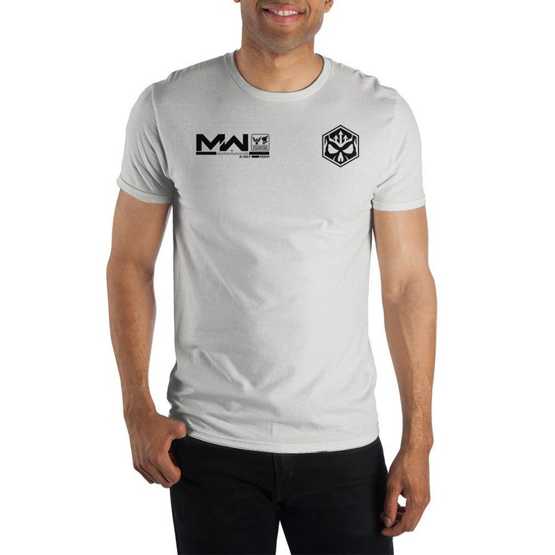 Call of Duty Modern Warfare Symbol White T-shirt