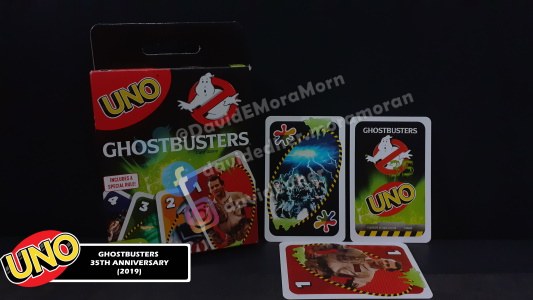 Ghostbusters 35th Anniversary Uno Card Game