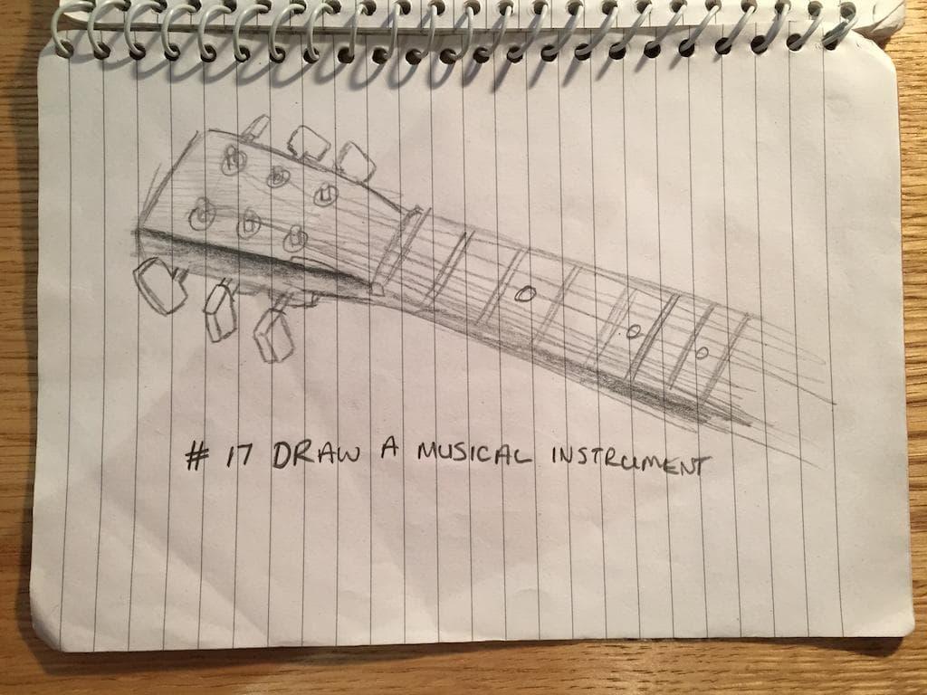 EDM #17 Draw a musical instrument