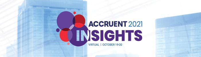 Accruent Insights Conference 2021